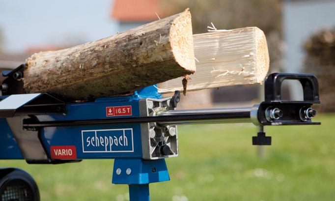 Scheppach Holzspalter - Steinbeisser Werkzeuge