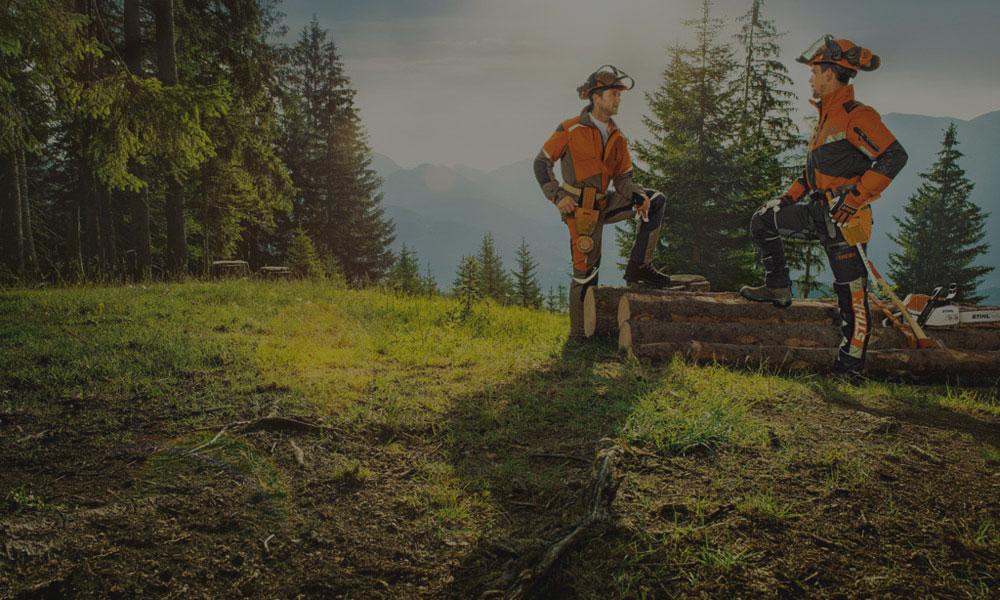 Waldarbeiter - Steinbeisser Werkzeuge